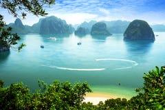 Louro de Halong em Vietnam Imagem de Stock Royalty Free