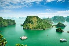Louro de Halong em Vietnam Foto de Stock