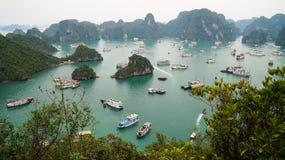 Louro de Halong, Vietnam fotografia de stock