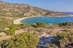 Louro de Kato Myrsini, Polyaigos, Greece Fotografia de Stock Royalty Free