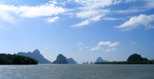 Louro de Phang Nga, Tailândia Fotografia de Stock Royalty Free