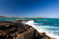 Louro do objeto antigo, costa sul do console sul de Nova Zelândia imagens de stock royalty free