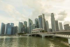 Louro do porto, Singapore Fotografia de Stock