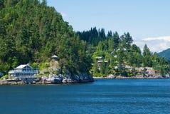 Louro em ferradura, Columbia Britânica fotos de stock royalty free