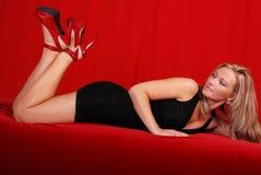 Louro glamoroso. Imagens de Stock Royalty Free