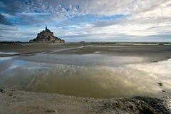 Louro Le Mont St Michel Fotos de Stock