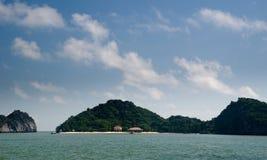 Louro longo do Ha Fotografia de Stock