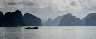 Louro longo do Ha, Vietnam Imagem de Stock