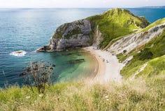 Louro na costa jurássico Foto de Stock Royalty Free