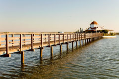 Louro portuário de Lagos em Greece fotos de stock royalty free
