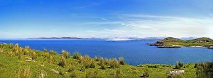 Louro Scotland da ovelha do Loch Fotografia de Stock