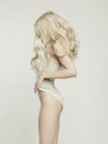 Louro 'sexy' Imagem de Stock Royalty Free