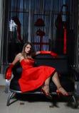 Louro 'sexy' foto de stock royalty free