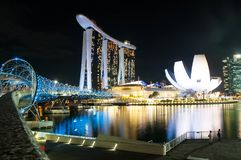 Louro Singapore do porto Fotos de Stock