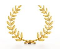 Louros do ouro Fotos de Stock Royalty Free