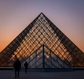 Lourve Paris France Royalty Free Stock Photos
