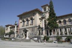 Lousanne (CH) - a universidade velha imagem de stock royalty free
