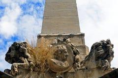 Lousi XV. on the Fountain of the Preachers, Aix-en-Provence, Fra. Nce Stock Photos