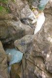 Lousiosrivier in de Peloponnesus, Griekenland stock foto