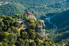 loussios gorge церков Стоковое Изображение RF