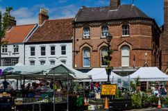 Louth market Stock Photo