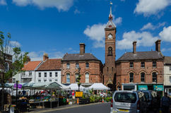 Louth market Stock Image