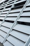 Louver pattern. Texture gray window Royalty Free Stock Photos