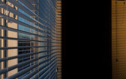 Louver on window Royalty Free Stock Images