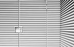 Louvered steel forms industrial art Royalty Free Stock Images
