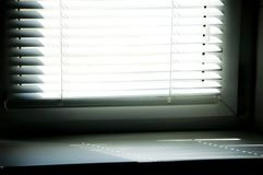 Louvers blind with sun ray Royalty Free Stock Images