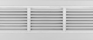 Louvers window with frame Stock Images