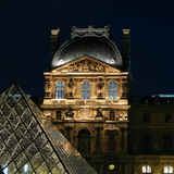 The Louvre 01, Paris, France stock photography