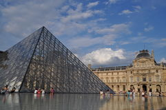Louvre Stock Photo