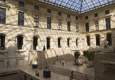 Louvre royalty free stock photo