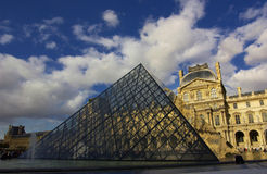 Louvre Royalty Free Stock Images