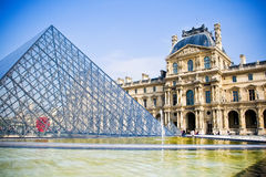 Louvre. Museum in Paris, France Royalty Free Stock Images