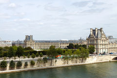 The Louvre Stock Photography