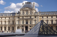 The Louvre Stock Images