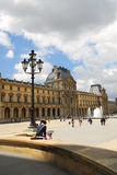Louvre Royalty Free Stock Photos