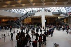 Louvre Lizenzfreie Stockfotografie