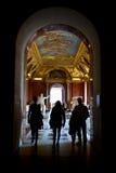 Louvre Foto de archivo libre de regalías