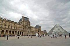 Louvre stockfoto