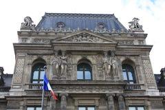 Louvre Arkivfoto
