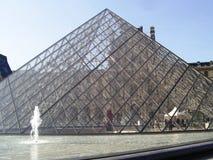 Louvre stock fotografie