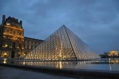 Louvre Royaltyfri Bild