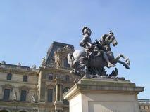 Louvre Royalty-vrije Stock Afbeelding