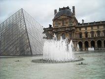 Louvre Stock Afbeeldingen