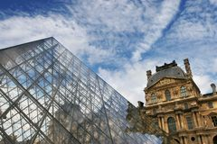 Louvre. Royalty Free Stock Images