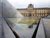 Louvre Zdjęcia Royalty Free