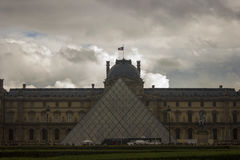 Louvre Stock Afbeelding